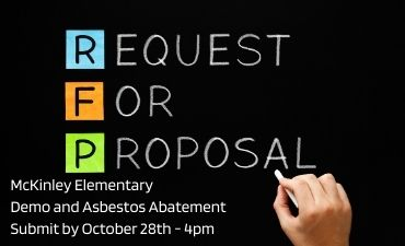 Request for Proposal McKinley Elementary