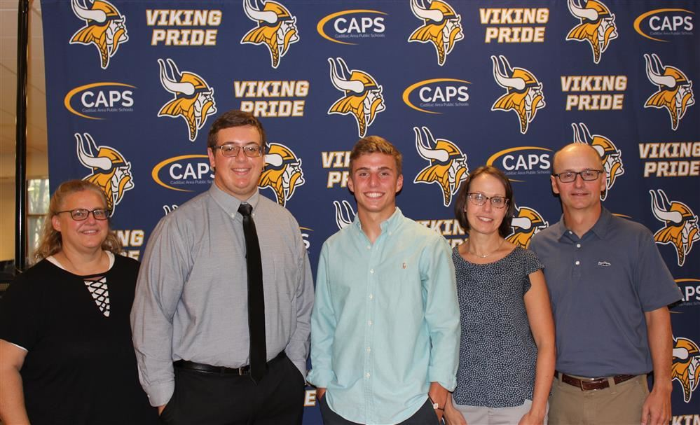 National Merit Scholar Finalists Ethan Pritchard and Alex Netzley