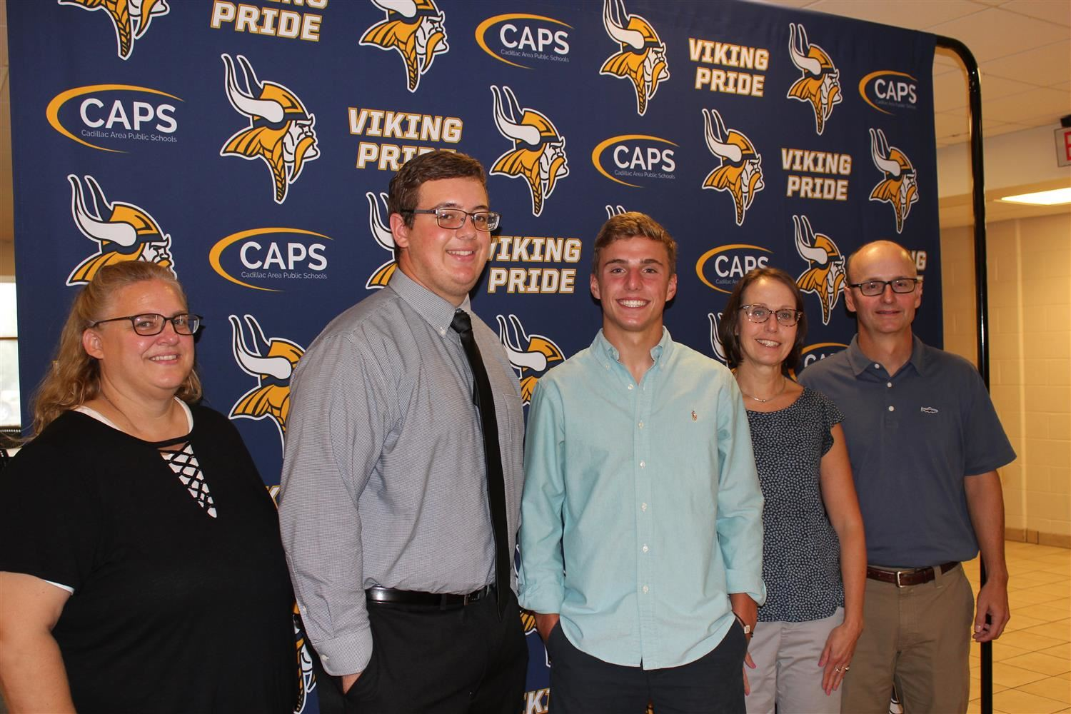 National Merit Scholar Semi Finalists Ethan Pritchard and Alix Netzly