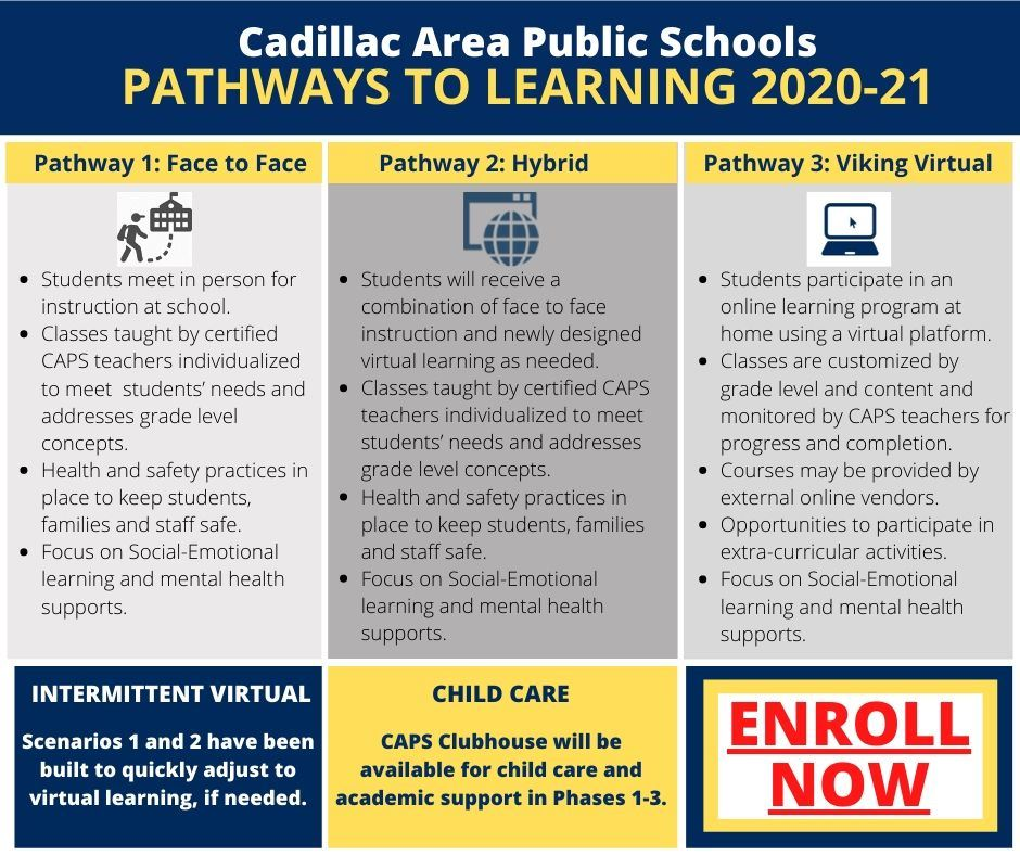 More information about CAPS Pathways to Learning 2020-2021